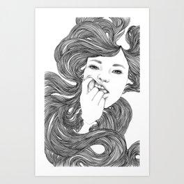 Fiona Art Print