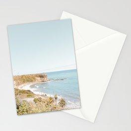 Travel photography Palos Verdes Ocean Cliffs Seascape Landscape VI Stationery Cards
