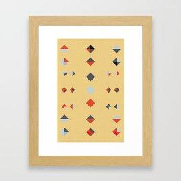untitled shape 3 Framed Art Print