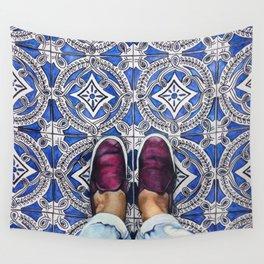 Art Beneath Our Feet - Ancona, Italy Wall Tapestry