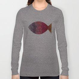 rainbow fish Long Sleeve T-shirt