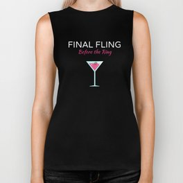 Final Fling Before the Ring Wedding Biker Tank