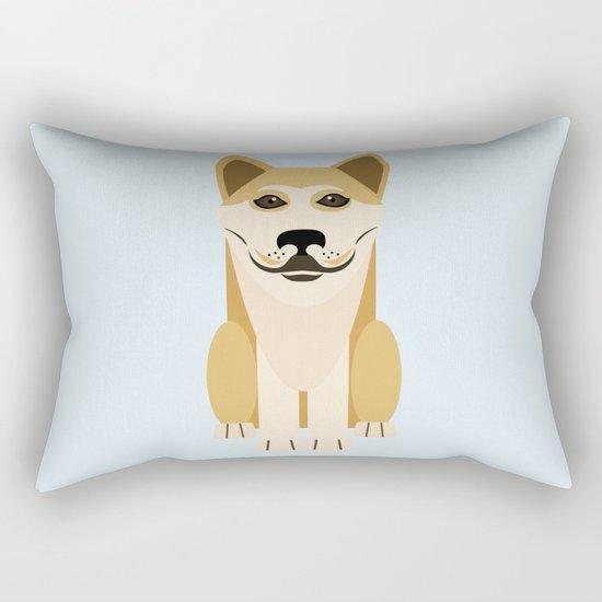 Shiba dog vector Rectangular Pillow