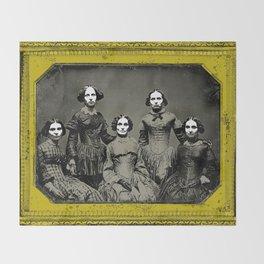 the clark sisters five Throw Blanket