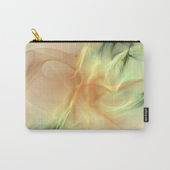 Warm Synergy Fractal Carry-All Pouch