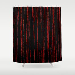 Weeping Tears of Blood Shower Curtain