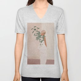 Carrying the Plant Unisex V-Neck