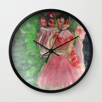 degas Wall Clocks featuring Dancers by Jim McGarvey