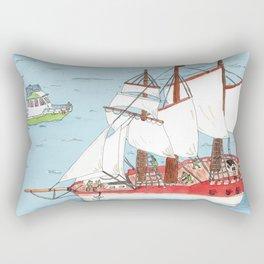 The Harbor Rectangular Pillow