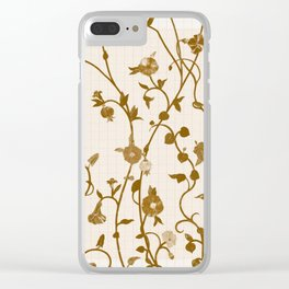 Golden Climbers Clear iPhone Case