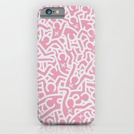 Keith Haring Variation #9 iPhone Case