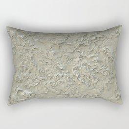 Rough Plastering Texture Rectangular Pillow