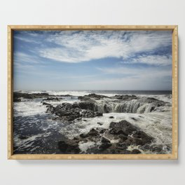 Thor's Well, No. 1 Serving Tray