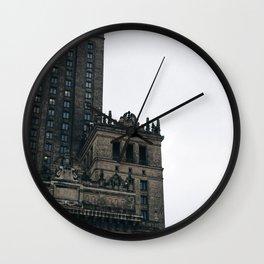 Pałac Kultury i Nauki II Wall Clock