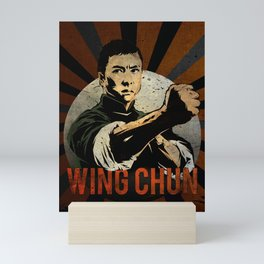 Ip Man, Wing Chun,  Martial Arts, Kung Fu Mini Art Print