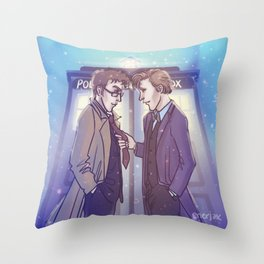 """Sometimes I miss this tie"" Throw Pillow"