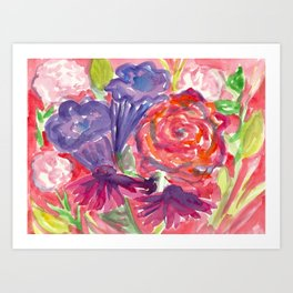 Springing Forward into Spring Art Print