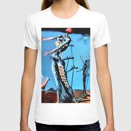 Salvador Dali - The Burning Giraffe 1937 Artwork for Wall Art, Prints, Posters, Tshirts, Men, Women, Kids T-shirt