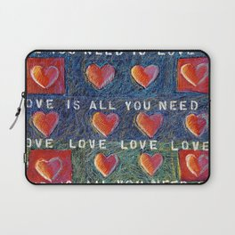 All You Need Is Love 3 Laptop Sleeve
