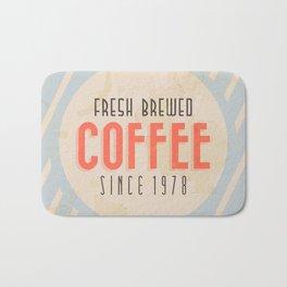 Fresh Brewed Coffee Bath Mat
