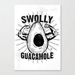 Swolly Guacamole Canvas Print
