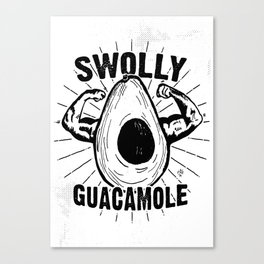 Swolly Guacamole Canvas Print