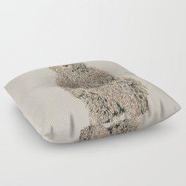 Honey Bear Floor Pillow