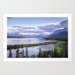 Jasper, Alberta. Art Print