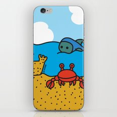 Fish and Crab iPhone & iPod Skin