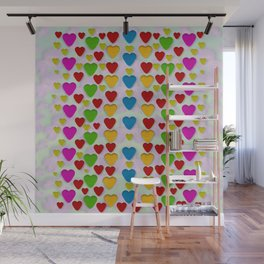 So sweet and hearty as love can be Wall Mural