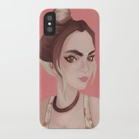 boho iPhone & iPod Cases featuring Boho by karolindie