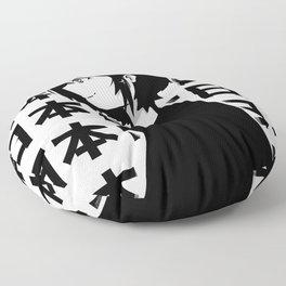 Contrast in Japan Floor Pillow