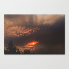 Summer Fires Canvas Print