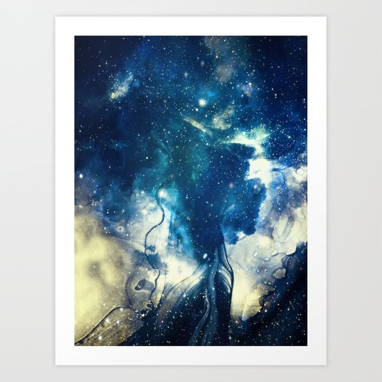 Book of Universe Art Print