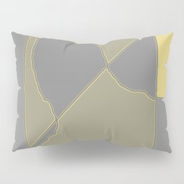 Abstract Landscape Pillow Sham
