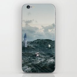 Survival of the tallest iPhone Skin