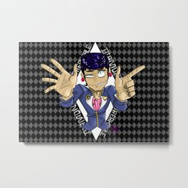 Diamond is unbreakable Metal Print
