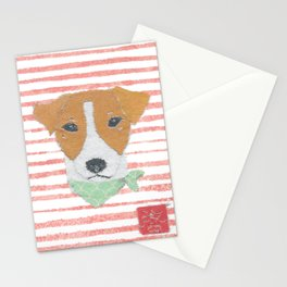 Jack Russell Terrier, Modern Stationery Cards