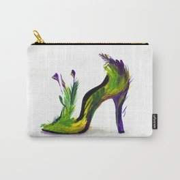 Feathered Heel Carry-All Pouch
