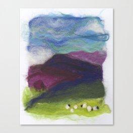 Tiny Landscape Canvas Print