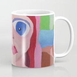 Mona Lisa Gets a Makeover Coffee Mug