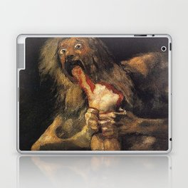 SATURN DEVOURING HIS SON - GOYA Laptop & iPad Skin