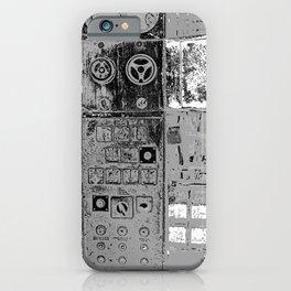 old abandoned machine iPhone Case