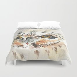 Where's The Coffee? Duvet Cover