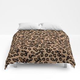 Digital Leopard Comforters