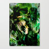 witchcraft Canvas Prints featuring Witchcraft by Artwork-Fusions