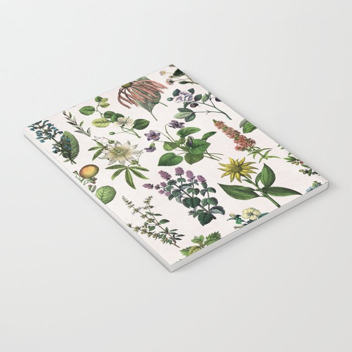 vintage botanical print Notebook