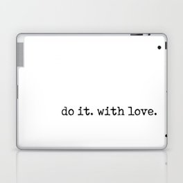 Do i. With Love. Typewriter Style Laptop & iPad Skin