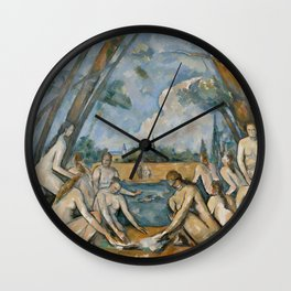 Paul Cézanne - The Large Bathers Wall Clock