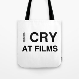 Cry At Films Tote Bag
